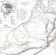 Morocco Africa Map by Whkmla Historical Atlas Morocco Page