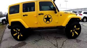 modified white jeep wrangler modification jeep wrangler yellow color youtube