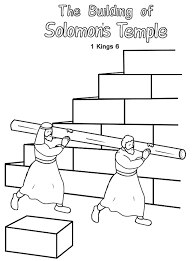 temple coloring page king solomon coloring page coloring home