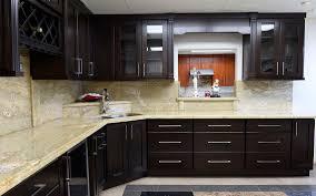espresso shaker kitchen cabinets 405 cabinets u0026 stone
