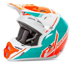 orange motocross helmet fly racing youth kinetic pro trey canard replica helmet revzilla