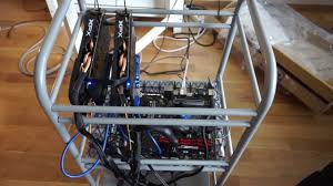 cheap mining rig frame from ikea youtube