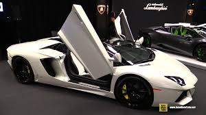 2015 Lamborghini Aventador Lp700 4 Roadster Exterior Interior