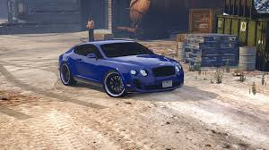 bentley supersport black bentley continental supersports gta5 mods com