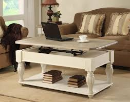Coffee Table Storage by Furniture Adjustable Coffee Table Combined With Alluring Pattern