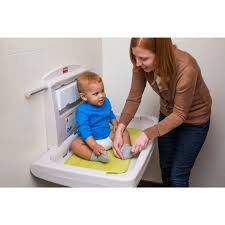 Rubbermaid Changing Table Rubbermaid Commercial Horizontal Baby Changing Station 33 25 Inch