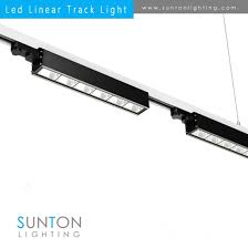 pro track lighting manufacturer high quality 40w universal led linear track lighting fixture