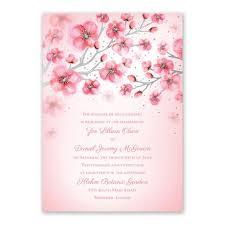 cherry blossom wedding invitations cherry blossoms foil invitation invitations by