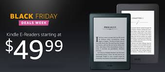 amazon black friday starts when amazon kicks off its kindle e reader black friday promotion with