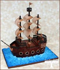 pirate ship cake 3d pirate ship cake www i cuteology cakes ahoy