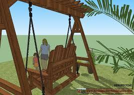 15 best garden arbor swing designs home garden plans sw100