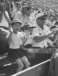 desi arnaz u0026 kids at ball game pictures getty images