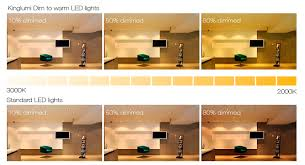 dim to warm led products kinglumi lighting