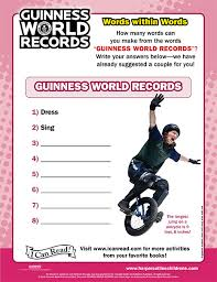 guinness world records i can read books icanread com