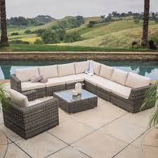 Rosa Sofa Christopher Knight Home Santa Rosa 9 Piece Outdoor Sofa Sectional