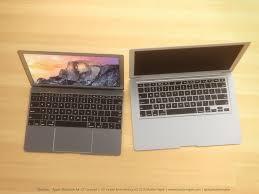 eye candy renderings of one port macbook air with laser cut apple