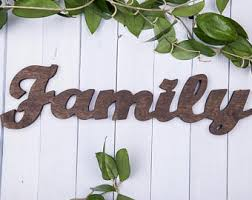 home decor family signs wooden family sign etsy