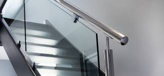 Metal Banister Rail Abbott Wade Ltd New Bespoke Stainless Steel Staircases