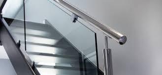 Metal Banister Rail Abbott Wade Ltd New Bespoke Stainless Steel Staircases