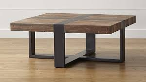 seguro square coffee table crate and barrel
