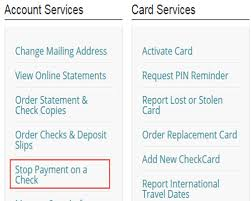 how to stop payment on a check regions