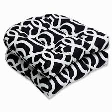 Black And White Patio Cushions by Porch Chair Cushions 9 Home Decoration