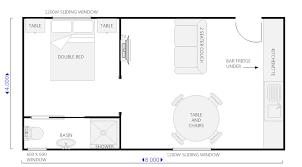Backyard Apartment Floor Plans One Bedroom Apartment Floor Plans U2013 Bedroom At Real Estate