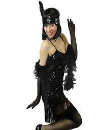 yummy bee flapper deluxe charleston 1920s fancy dress costume