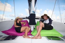 Bean Bag Chairs For Boats Decking Out A Yacht Bvi Property Guide