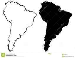 map of and south america black and white south america clipart silhouette pencil and in color south