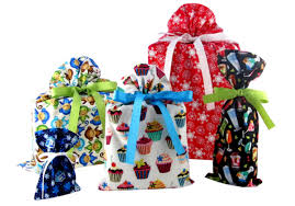 cloth gift bags vz wraps reusable fabric gift bags a christmas in july giveaway