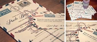 themed wedding invitations travel themed wedding invitations plumegiant