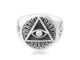 celtic ring sterling silver eye of horus illuminati celtic ring