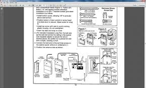 1 2 Horsepower Garage Door Opener by Craftsman Garage Door Opener Wiring Diagram How To Wire A Garage