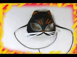 how to draw halloween animals mask how to make a cat mask for