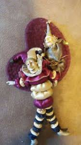 lot of 2 wayne kleski jester ornaments ebay