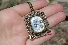 diy resin necklace images Steampunk resin necklace pendant diy resin crafts jpg