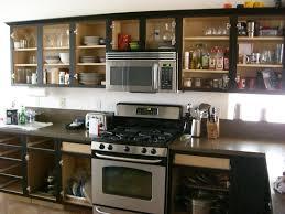 Kitchen Cabinet Glass Door Replacement Kitchen Unusual Black Cabinet With Glass Doors Replacement