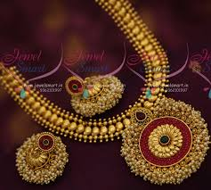 fashion jewelry necklace sets images Nl7401 latest gold leaf design fashion jewellery necklace set kemp JPG