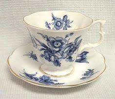 bone china basket of roses teacup saucer by royal albert england