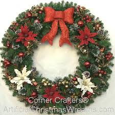 large outdoor decorations wreath wreaker