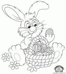 easter bunny printable free download