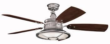 kichler ceiling fans with lights kichler 52 wind speed 4 66 mph 410 16 lfm cfm 6049 rustic