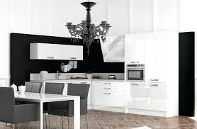 deco cuisine noir et blanc meuble de cuisine noir et blanc charmant deco cuisine blanc et