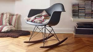 Eames Style Rar Molded Black Vitra Eames Plastic Armchair Rar