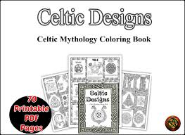 celtic coloring pages printable pdf celtic knot irish mandala