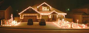 christmas house lights progression of chritmas lights the and white with icicles