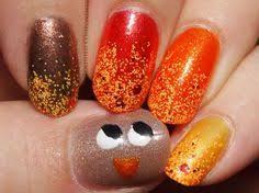 51 fall nail colors designs thanksgiving nails