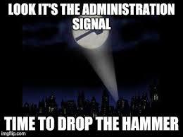 Ban Hammer Meme - ban hammer imgflip