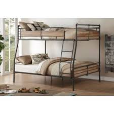 ACME Furniture Brantley II Full XL Over Queen Bunk Bed  Reviews - Queen bed with bunk over